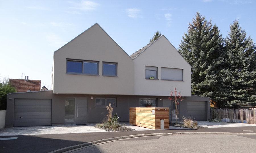 F d ration interprofessionnelle for t bois alsacienne for Construction bois 68