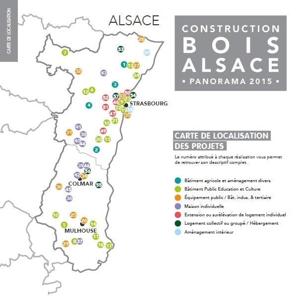 Construction Bois Alsace : For?t-Bois alsacienne (FIBOIS Alsace) – Livret – Panorama 2015